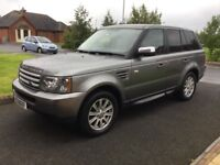 09 RANGE ROVER 2.7 TD V6 S FSH LEATHER SAT NAV P/EX WELCOME