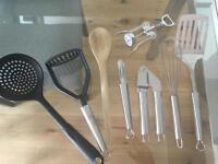 John Lewis Kitchen utensils - 7 items