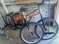 Jump style bikes