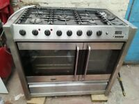REDUCED! Belling Platinum DB3 Range dual fuel cooker, fully working, BARGAIN FOR FAST SALE!