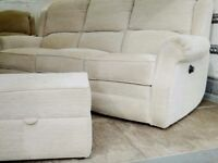 RECLINING SOFA CHAIR PUFFY