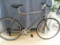 ADULTS VERY GOOD QUALITY RALEIGH PIONEER HYBRID MOUNTAIN BIKE IN VGC.
