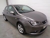 SEAT IBIZA TOCASPORT , 2014 , ONLY 23000 MILES + HISTORY , HUGE SPEC , FINANCE AVAILABLE , WARRANTY
