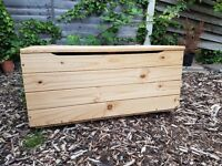 Keep your house tidy with these handy solid pine toy storage boxes/ chests!