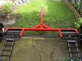 Car Tow Dolly ( Collapsible Easy to use Easy to store )