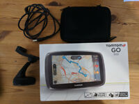 Tomtom GO 500 - Lifetime UK/Europe Maps - 5in Touchscreen - Good as new!