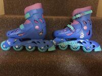 Frozen skates