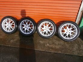 MG ZR alloy wheels for sale 16 in all so fit mazda mx 5