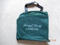 Joseph Verity of London Unused Leather Messenger Bag