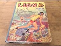 Vintage Lion/Tiger Annuals from 50/60's