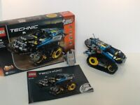 Lego technic remote-controlled stunt racer set 42095