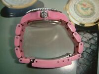Toy make watch pink colour small strap quality build working well