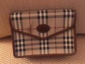 Burberry Authentic Clutch Bag