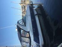 Luxury cruiser 370 powerboat
