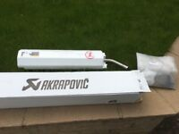 Akrapovic exhaust 250/300 2 stroke
