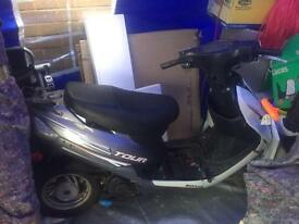 Sonic tour 50cc no keys or logbook snapped exhaust field bike only