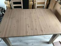 Ikea Kaustby table and 6 chairs