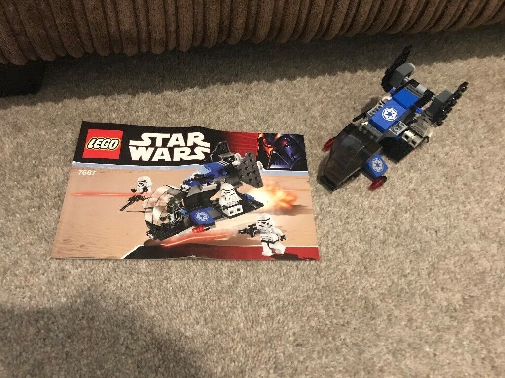 Retired Lego Star Wars Imperial Dropship In Reading Berkshire
