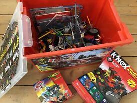 Mixed box of KNex and various sets