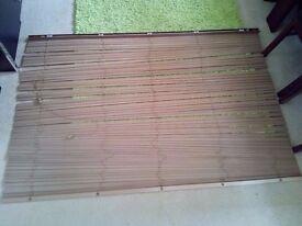 Windows brown 2x blinds180/125cm