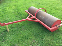 6ft Sand filled grass roller