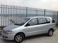 TOYOTA PICNIC 2.0 SE PETROL 5 DOORS AUTOMATIC SILVER
