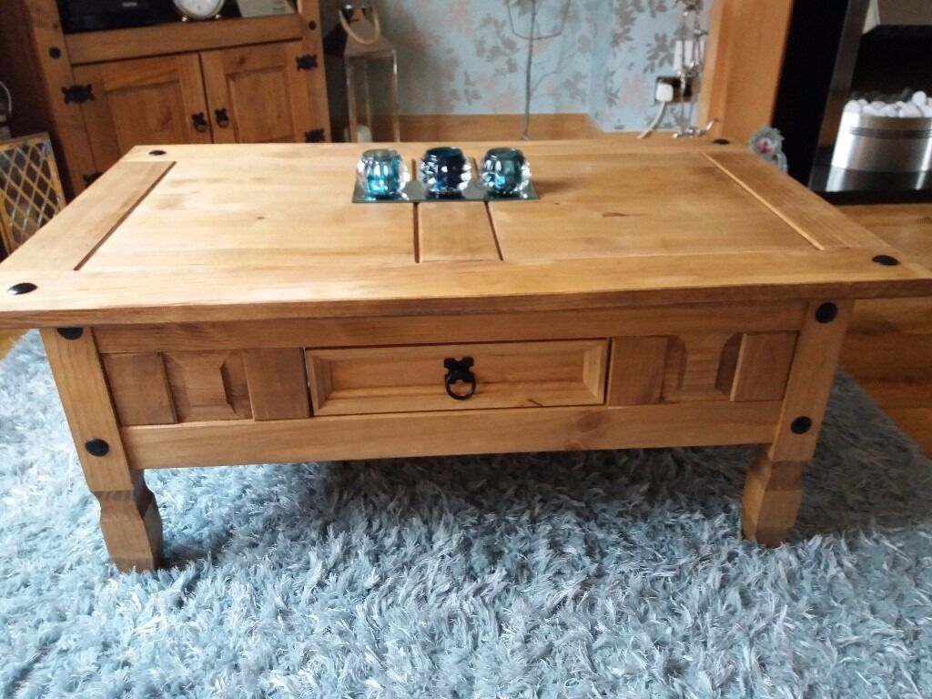 Mexican Pine Coffee Table Mexican Pine Coffee Table And Tv Unit In Methil Fife Gumtree