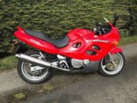 Suzuki GSXF600 only 8k mint condition ,trade in considered, credit cards accepted