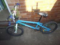 X-RATED FURNACE BMX BIKE AND HELMET