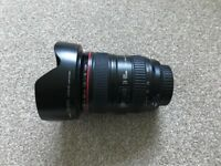 Canon L-series 24-105mm F/4 L IS USM Lens