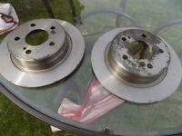 Mercedes Disc Brakes
