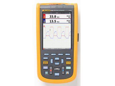 Fluke 123bna Industrial Scopemeter Handheld Oscilloscope 20mhz North America