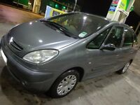 2004 citroen xsara picasso 1.6 sx 8v with full service history moted and taxed DRIVEAWAY OR DELIVERY