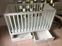 IKEA Baby cot STUVA with drawers FRITIDS