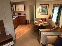 Stunning static caravan with beautiful views of White Acres fishing lakes. (Newquay, Cornwall)