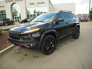 2015 Jeep Cherokee 4WD Trailhawk ACCIDENT FREE, ONE OWNER, 6/120