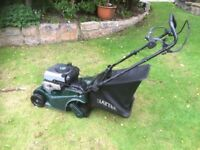 Hayter lawnmower. 41. Self propelled. With back roller .