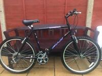 "Fuji Odessa bike 21"" Large frame. 26"" Wheels. Good condition"
