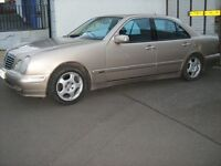 2001-MERCEDES,AUTO E CLASS,,FOR,VAN--125CC BIKE.