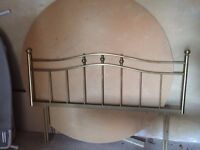 BEAUTIFUL BRASS BED FRAME - DOUBLE BED - £50