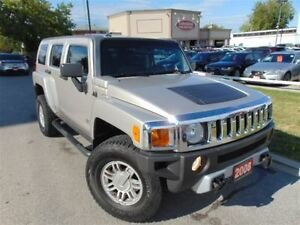 2008 Hummer H3 SUNROOF 4X4  DUAL DVD