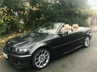 BMW 3 SERIES 320CD MSPORTS TURBO DIESEL 2005 05 CABBY