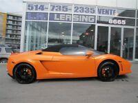 2010 Lamborghini Gallardo LP560-4 SPIDER *$1095 mois*