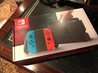 Nintendo Switch - Neon Red & Blue **BRAND NEW**OFFERS WELCOME**