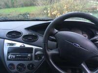 Ford Focus 2001 1.8L Blue 5 door