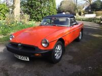 MGB Roadster 1981 in Excellent Condition