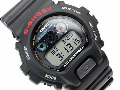 G-shock Stopwatch - Casio G-Shock DW-6900-1V Digital Mens Watch Diver Illuminator Stopwatch DW-6900