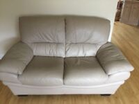 Leather 2 Seater and Corner Sofa