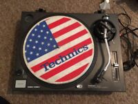 Technics SL 1210 MK2 Turntable / Deck with cart & stylus included SL1210