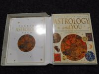 Tai Chi hardback book with DVD, and 'Parkers C.omplete astrology pack' in box. Both brand new.